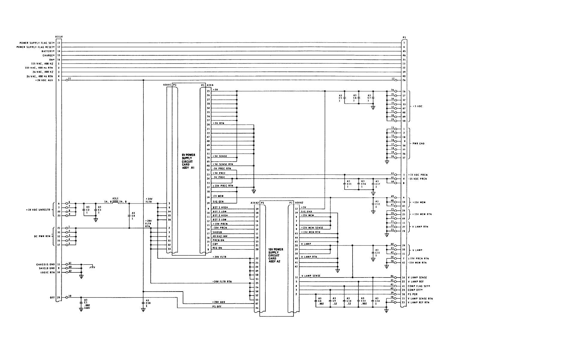 Figure FO-5. Computer Power Supply Schematic Diagram - TM-5-6675-308 ...
